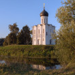 The Church of the Intercession on the Nerl — Stock Photo