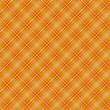 Seamless cross orange shading diagonal pattern — Stock Vector