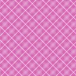 Seamless cross pink shading diagonal pattern — Stock Vector #27255189