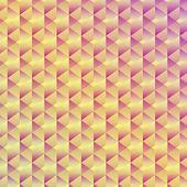 Bezszwowe tło sześciennych geometryczne — Wektor stockowy