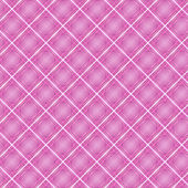 Seamless cross pink shading diagonal pattern — Stock Vector