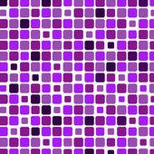 Mosaic with square violet background — ストックベクタ