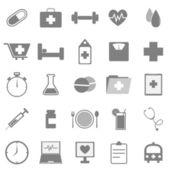 Ikony zdrowia na białym tle — Wektor stockowy