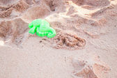 Sea horse shape of sand toy — Stock Photo