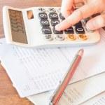 Businesswoman checking account balance — Stock Photo #51766335