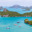 Marine Park: AngThong Marine National Park Viewpoint — Stock Photo
