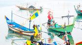 Barche da pesca locali — Foto Stock