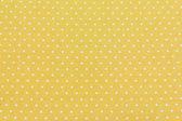 Yellow and White Tiny Distressed Polka Dots — Stock Photo