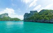Island at Ang Thong national park ,Thailand — Stock Photo