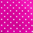 White dots on Pink Background — Stock Photo