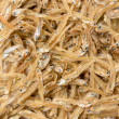 Dried tiny fish — Stock Photo