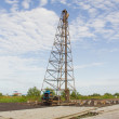 Pile rig — Stock Photo