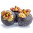 Stock Photo: Mangosteen fruit