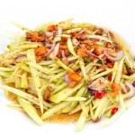 Thai spicy mango salad — Stock Photo #33665093