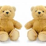 Sitting bear toy — Stock Photo #33665491