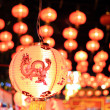 Stock Photo: Chinese new year light no3
