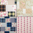 Fabric retro pattern — Stock Photo
