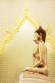 Golden Buddha right side — Stock Photo