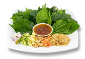 Miang Kham is a thailand tasty snack — Stock Photo