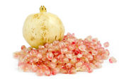 Thai Ripe pomegranate fruit — Stock Photo