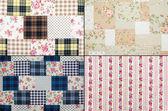 Fabric retro pattern — Stockfoto