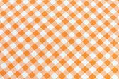 Orange tablecloth pattern — Stock Photo