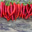 Chili Peppers  — Stockfoto
