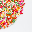 Sugar sprinkle — Stock Photo