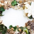 Stock Photo: Potpourri frame