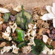 Stock Photo: Potpourri background