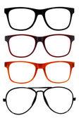 Eyeglasses,Sun glasses — Stockfoto