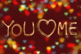 We Love — Stock Photo
