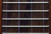 Ukulele fretboard — Stock Photo