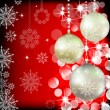 Royalty-Free Stock Vector Image: Background with Christmas