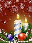 Navidad de fondo — Vector de stock