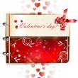 šťastný Valentýn nápis — Stock vektor