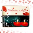 Happy Valentines day banner — Stock Vector #18054079