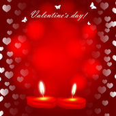 Valentine`s day background — Stockvektor