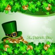 Stock Vector: St Patrick's Day
