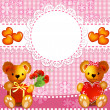 Teddy bears — Stock Vector #22799806