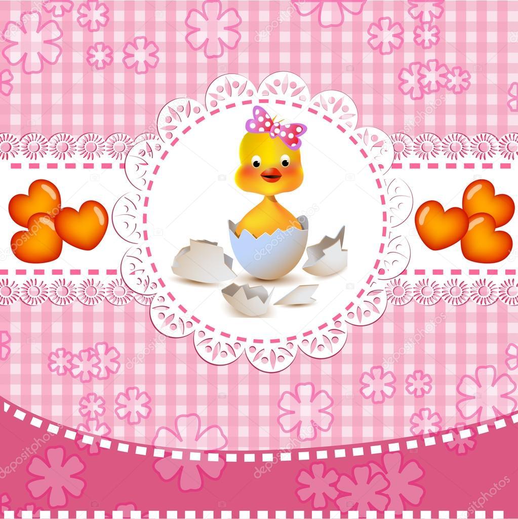 可爱的小女孩洗澡 — 图库矢量图像08 analia26