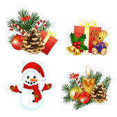 Christmas simgeleri — Stok Vektör