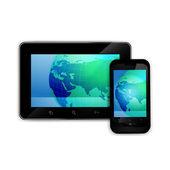Mobile smart phone — Stock Vector