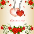 Valentine s day — Stock Vector