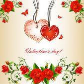 Valentine s day — Stock Vector