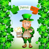 St Patrick 's Day — Stock Vector