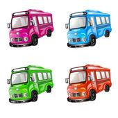 Color car collection. — Stock Vector