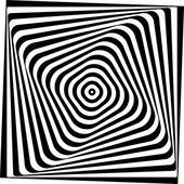 Vasarelly optical effect. — Stock Vector