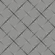 Black and white seamless background - Imagen vectorial