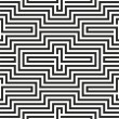 Black and white zigzag pattern — Stock Vector #29435079